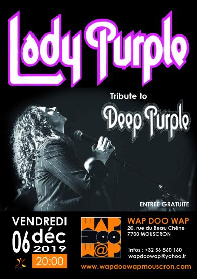 Lady purplecopie